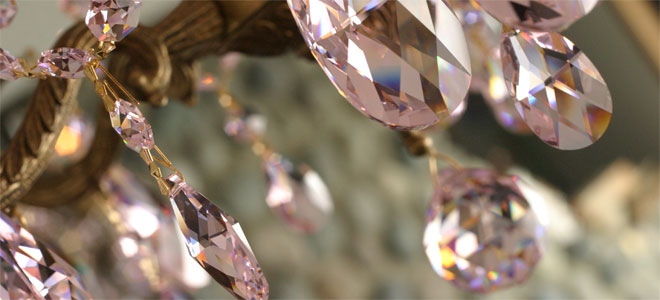 Wholesale Swarovski Chandelier Crystal Cosmic Creations Canada USA - Chandelier crystals pink